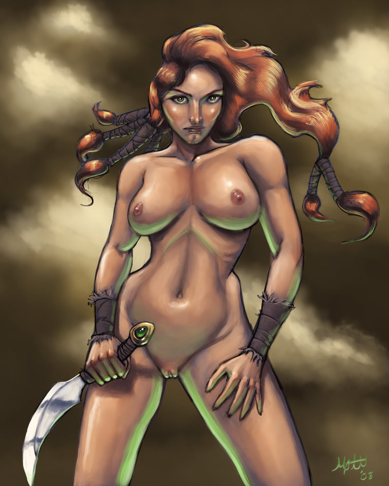 Nude Barbarian Woman