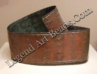 Urartian belt. Bronze belt with repousse decoration 7th century BC. W. 10.2 cm; L. 97 cm. Museum of Fine Arts (Egyptian Curators Fund), Boston, Mass.