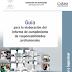 Guías para elaboración de Expediente de Evidencias de la Evaluación Docente