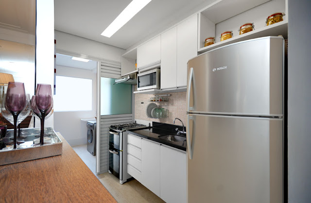 decoracao cozinha flat:Cozinha De Apartamento