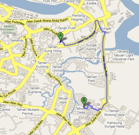 The Jungle Teacher: Google Maps Extensively Covers Malaysia