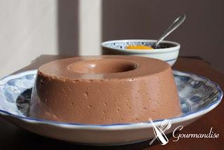 gourmandise panna cotta de chocolate