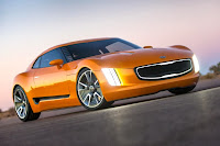 Kia GT4 Stinger Concept (2014) Front Side