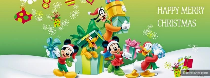 Disney Characters Christmas Cover Photo