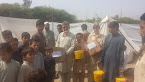 NORTH WAZIRISTAN DISPLACED PEOPLE IN BANNU IDP CAMP