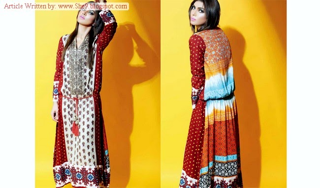 Sania Zara Kurti Winter-Fall Collection 2014-2015