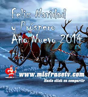 Frases De Año Nuevo: Feliz Navidad Y Próspero Año Nuevo 2014 Y Que Tus Renos Te Guíen Por El Buen Camino