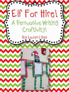 http://www.teacherspayteachers.com/Product/Elf-for-Hire-A-Persuasive-Writing-Craftivity-909731