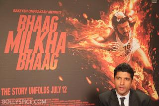 Bhaag Milkha Baag with Farhan Akhter
