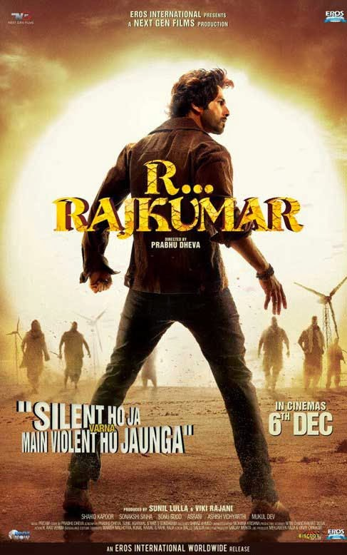 R Rajkumar First Look Poster
