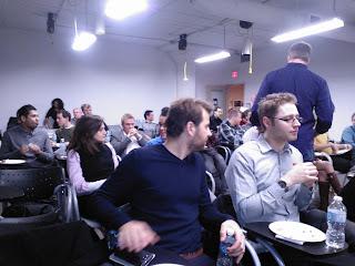 a Startup Grind meeting in Toronto
