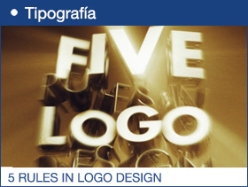 5 RULES IN LOGO DESIGN