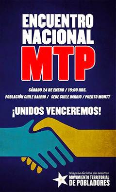 PUERTO MONTT; ENCUENTRO NACIONAL MTP