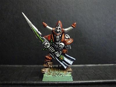 Wight 3 Caballeros no muertos pintado