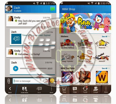 BBM MOD & BBM2 Free Sticker Full Feature NEW V2.8.0.21 APK