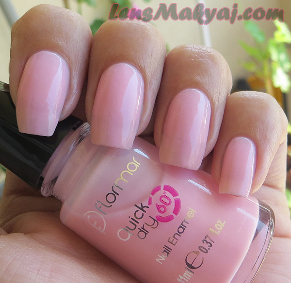 Flormar Quick Dry Soft Pink