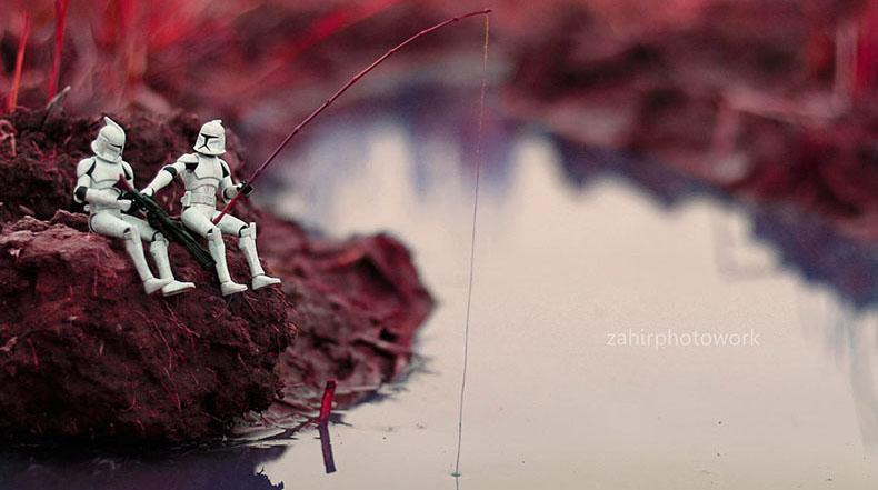 Aventuras de Star Wars en miniatura por Zahir Batin
