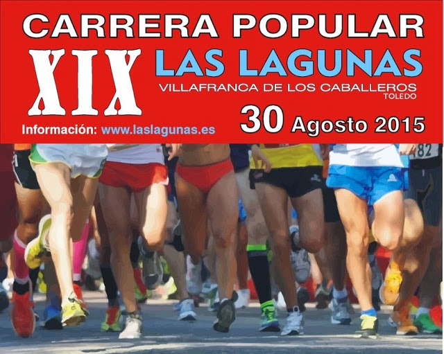 "XIX Carrera Popular ""Las Lagunas"" de Villafranca de los Caballeros"