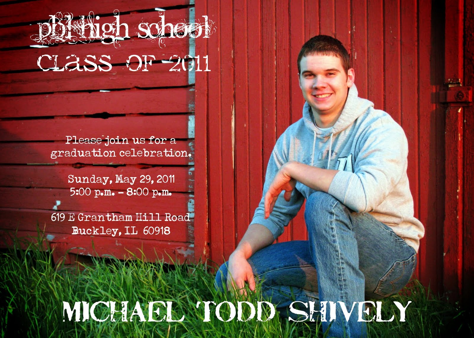 Bear River Photo Greetings: Graduation Announcements are Flying Out ...