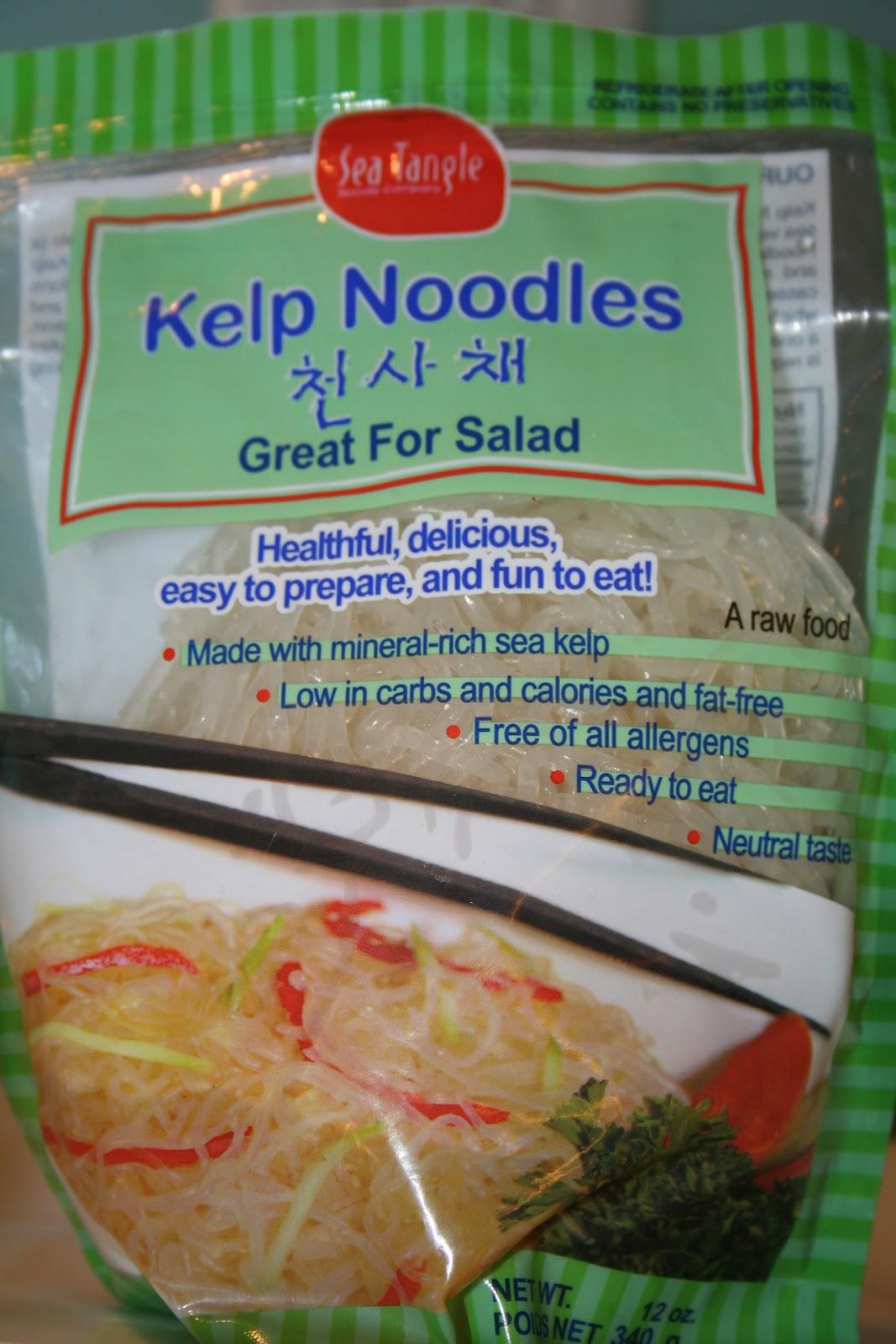 Budget Paleo...Made Easy: Kelp Noodles