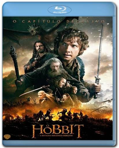 Download O Hobbit 3 A Batalha dos Cinco Exércitos AVI BDRip Dual Áudio + BRRip + Bluray 720p e 1080p Torrent