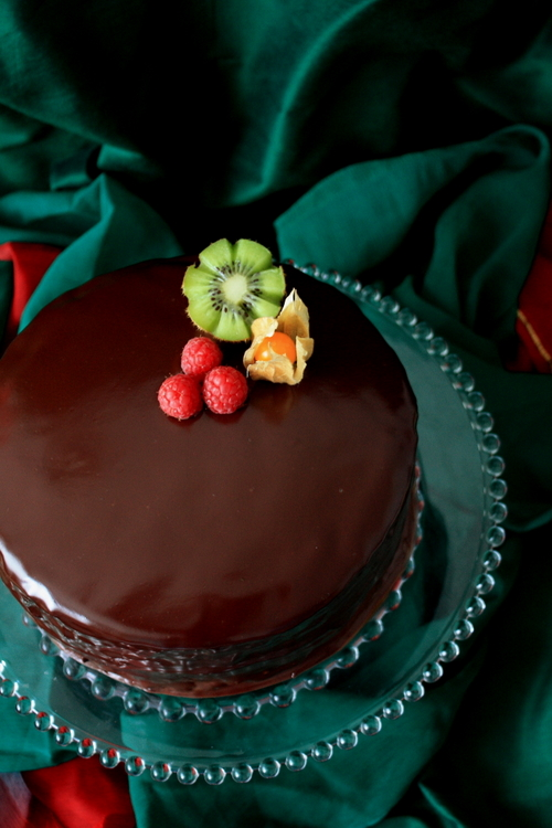 Chocolate Kiwi Cake A Pinch of Love
