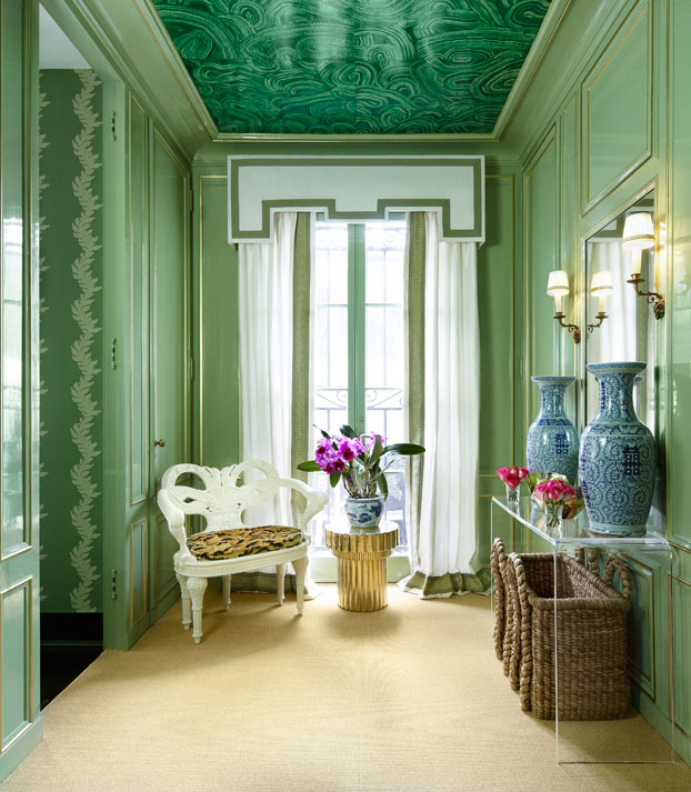Chinoiserie Chic A Gorgeous Chinoiserie Powder Room