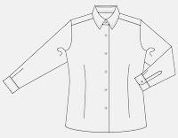 Camisa Blanca camarera : Más información
