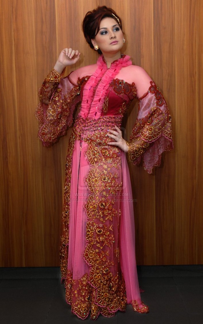 comment on this picture model kebaya pengantin modern gambar terbaru