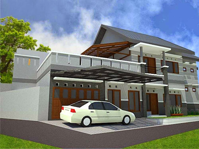 Rumah Tropis Model Terbaru