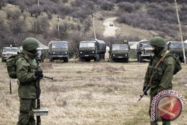 Rusia katakan tentaranya kembali ke barak setelah pelatihan