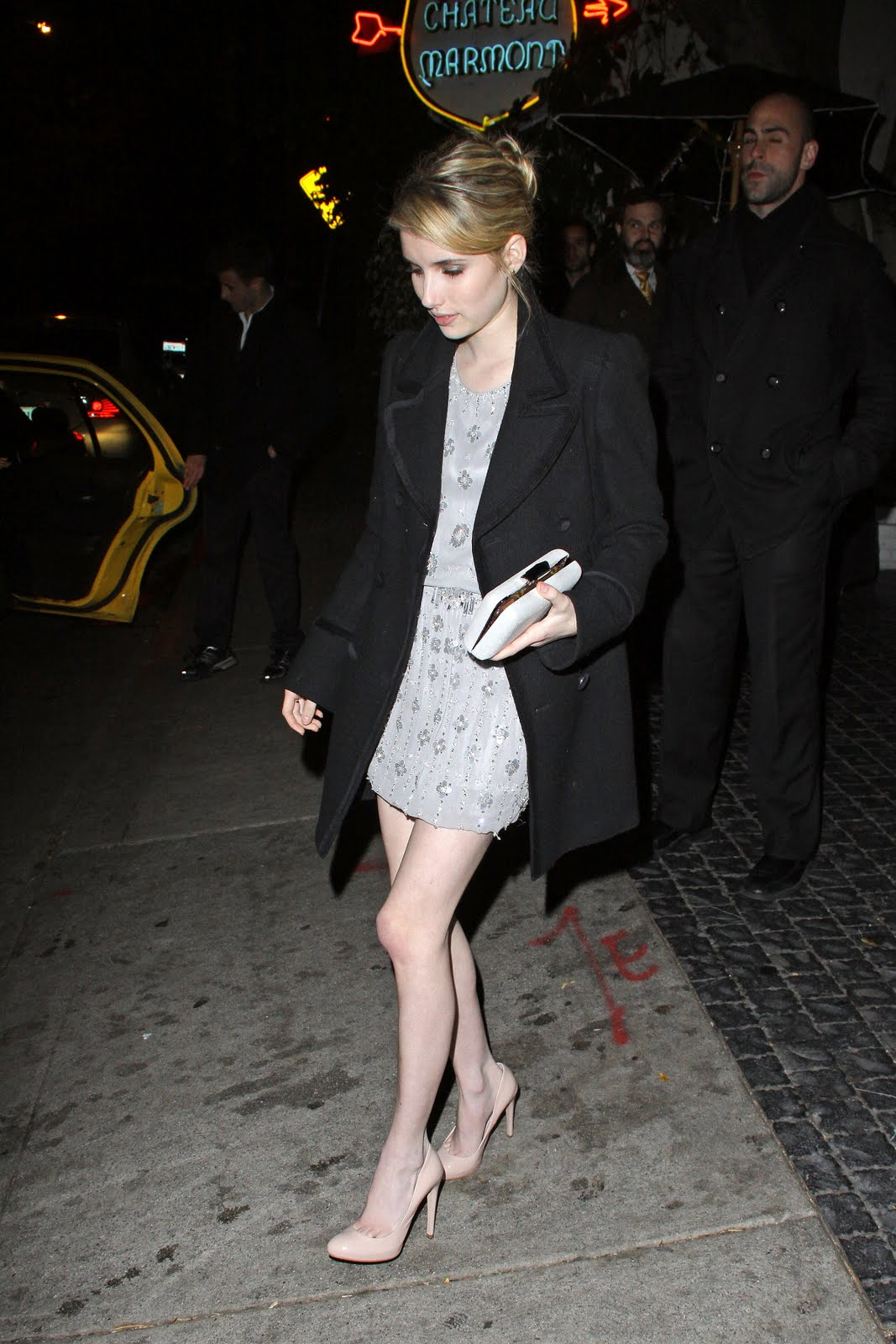 the toe cleavage blog barely legal emma roberts