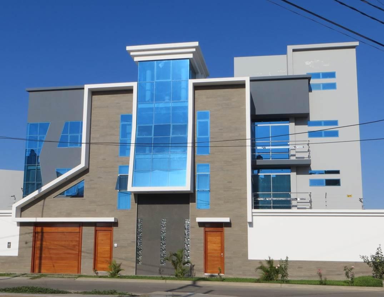 Fachadas y casas diferente estilo de una casa de 3 pisos for Fachadas de casas de 3 pisos modernas