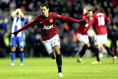 El Manchester United le dió un baile al Wigan