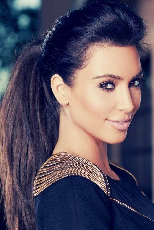 All Stuff Zone Kim Kardashian Hairstyles