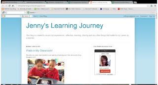 Jenny's Learning Journey