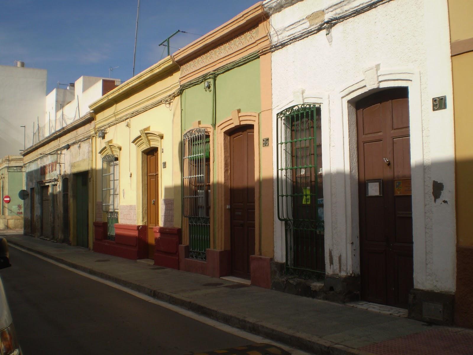 Almería, mil rincones: Arquitectura tradicional de puerta y ventana