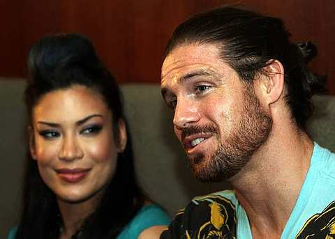 Former WWE performers John Morrison and Melina were reportedly in a    Wwe John Morrison And Melina Kiss