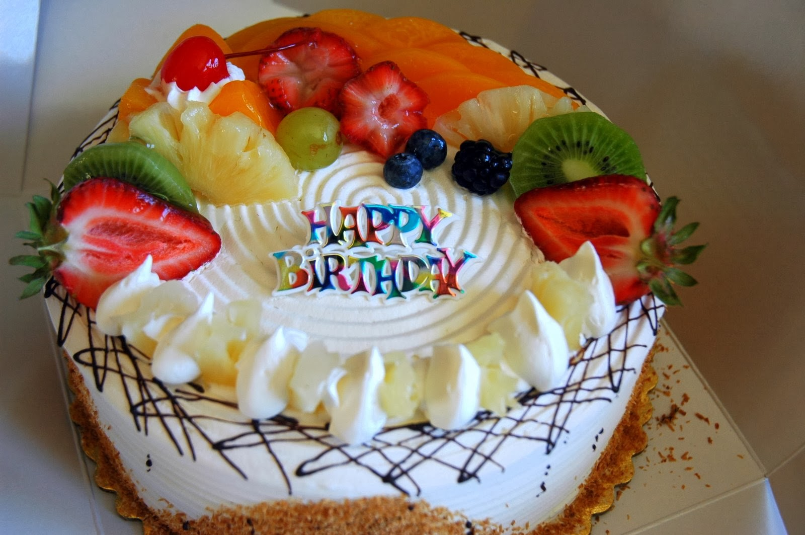 Birthday Cake Images With Photo : Lovable Images: Happy Birthday Greetings free download ...