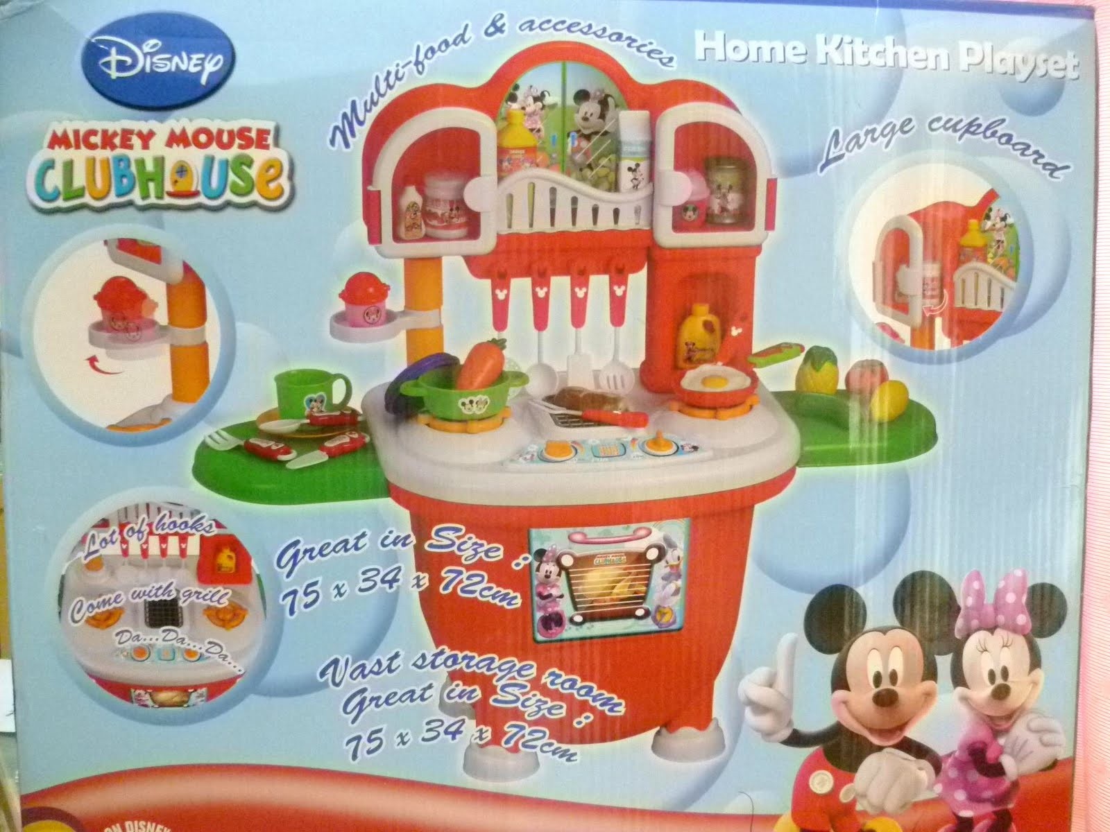 Mickey Kitchen Playset (New)