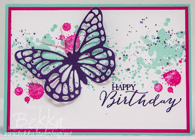 Bright and Beautiful Birthday Butterfly Card