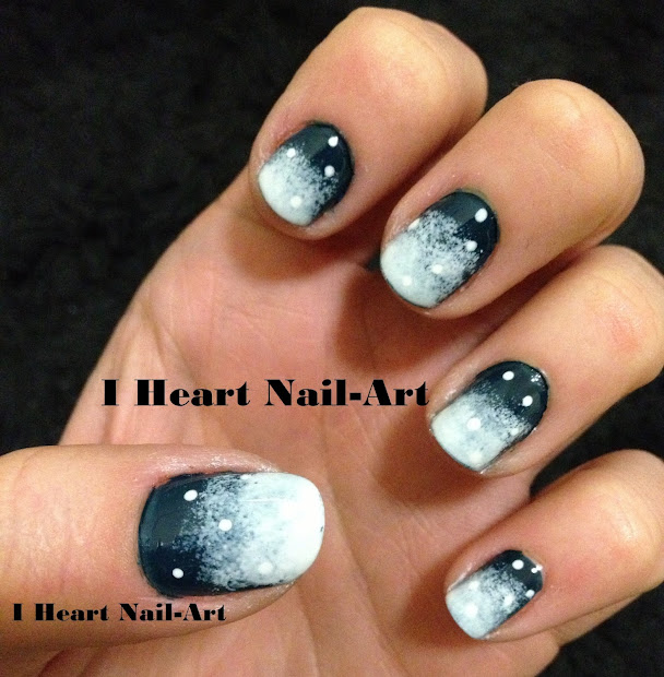 heart nail art january 2013