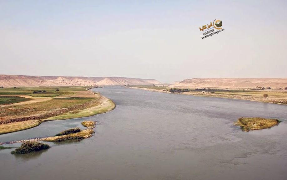 نهر الفرات وجبل الذهب
