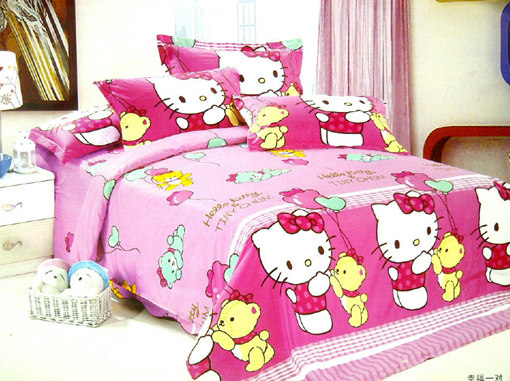 Sprei Anak Motif Helo Kitty