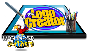 The logo creator v6 laughingbird the logo creator 68 full it is a fun and simple tool for windows and mac that simplifies all your needs to design logos business cards reheart Images