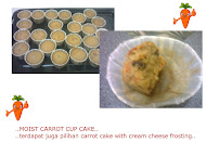 CARROT CAKE/ CUP CAKE