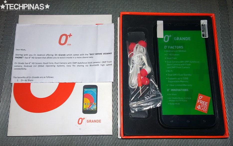 O+ Grande Giveaway