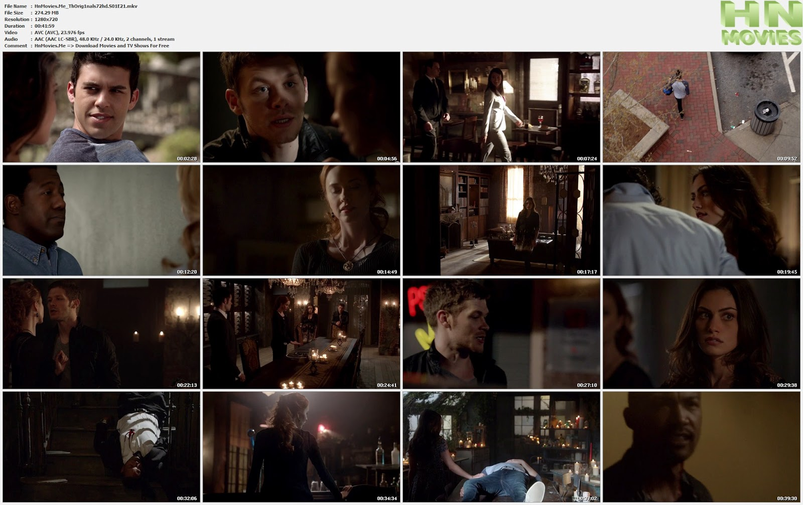 The Originals S01E21 720p HDTV 275MB