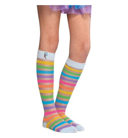 MLP Rainbow Dash Child Costume Socks
