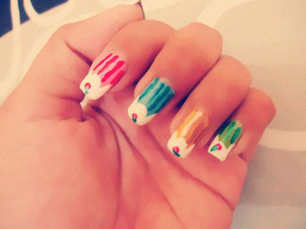 cc's nails rainbow ice cream